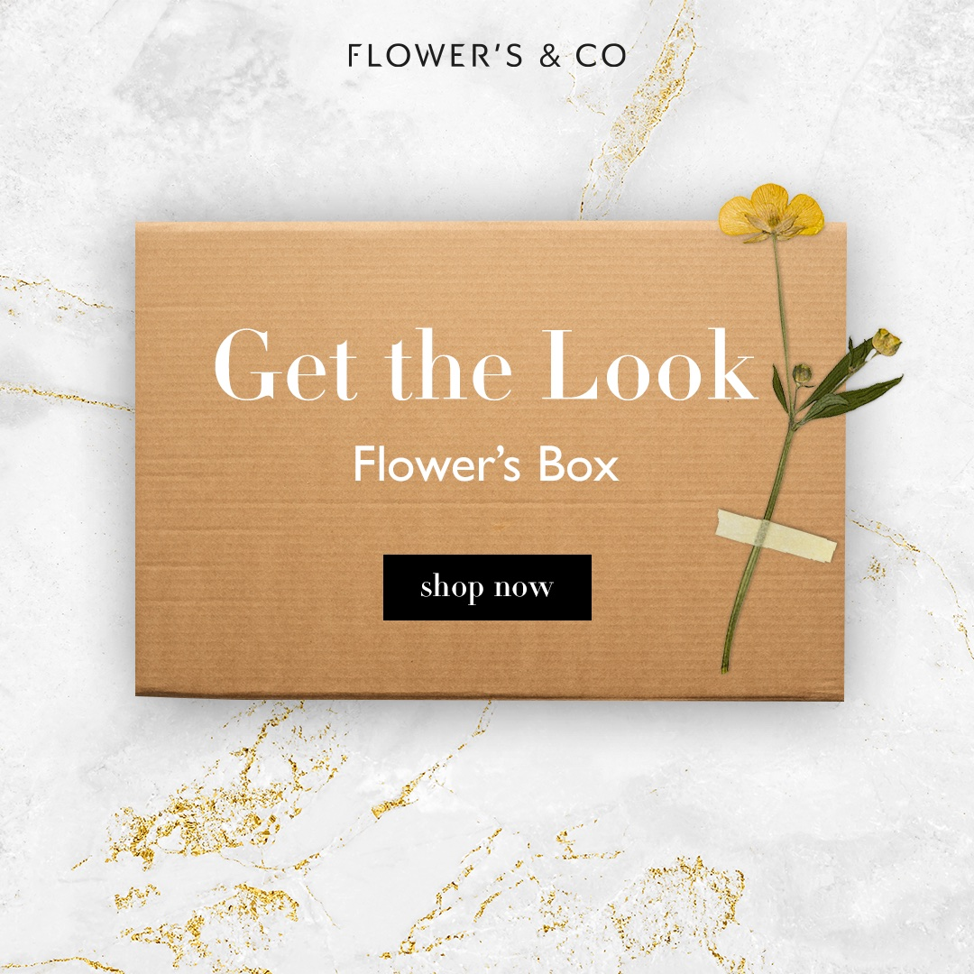 Get The Look -> Flower's Box